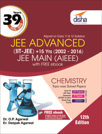 39 Years IIT-JEE Advanced + 15 yrs JEE Main Topic-wise Solved Paper Chemistry (12th Edition)