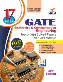 17 years GATE Electronics Engineering Topic-wise Solved Papers (2000 - 16)