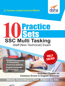 10 Practice Sets SSC Multi Tasking Staff (Non Technical) Exam